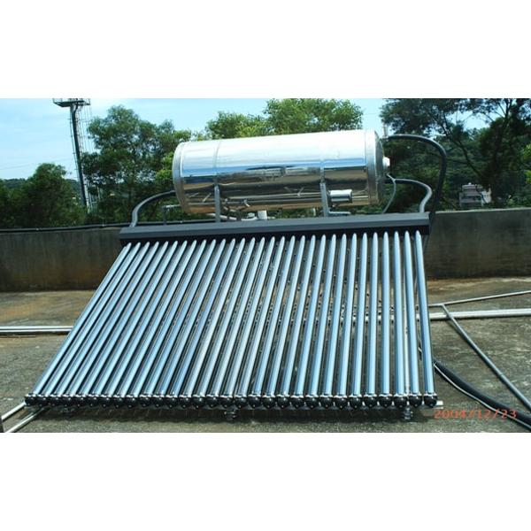 熱媒真空管式太陽能集熱器-七色橋有限公司-桃園