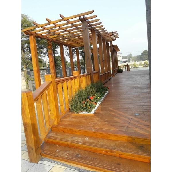 木作花架-爵仕帝景觀室內設計工程有限公司-新竹