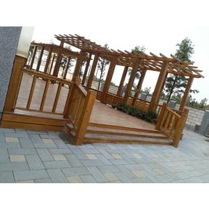 木製平台格柵