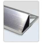 A1225-3三角斜邊鋁合金修邊條