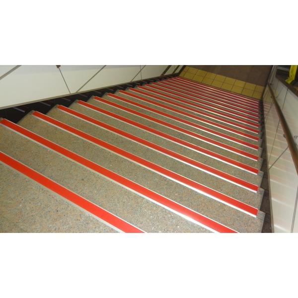 鋁底座止滑條-樓梯實績3