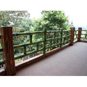 仿竹木欄杆