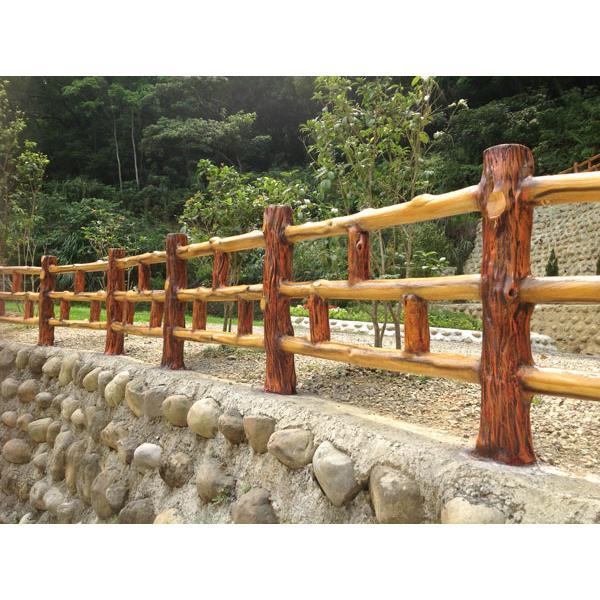 仿木燒杉欄杆