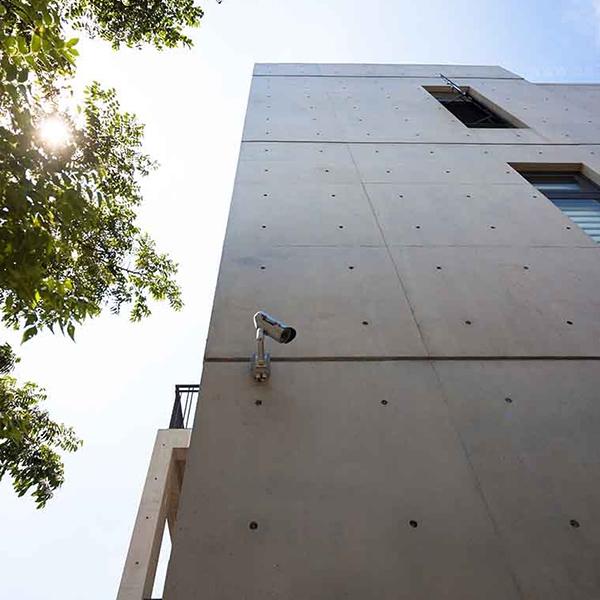 清水混凝土修飾與保護工法  SA工法(外牆)-朋柏實業有限公司-台北
