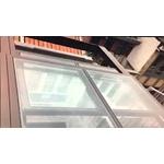 電動採光罩單動單拉-電動採光罩,結構玻璃採光罩,氣密隔音窗,淋浴拉門,鋼鋁玻璃屋-田中金屬有限公司