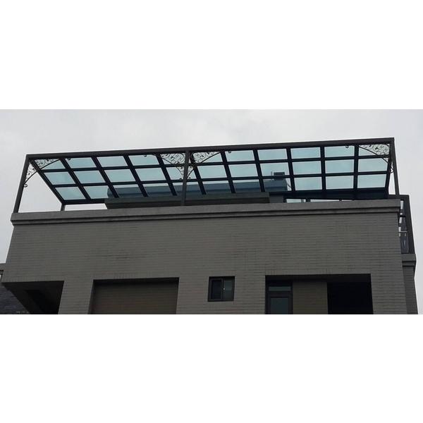 透明隔熱板採光罩