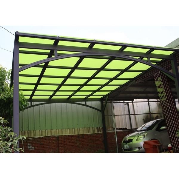 綠色隔熱板採光罩