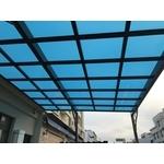 藍白色隔熱板採光罩-pic