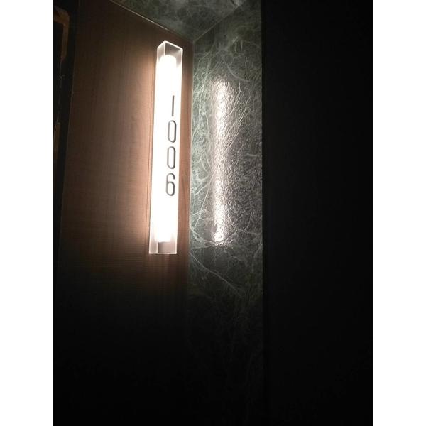 飯店房間門號壓克力製品