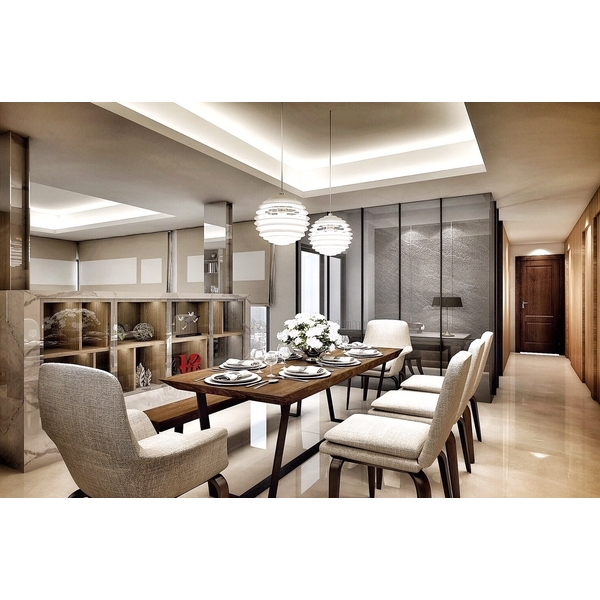豪宅餐廳規劃-誼銘室內設計工程有限公司-新北