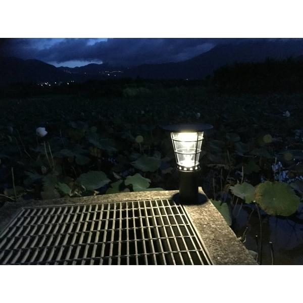 高亮度太陽能景觀庭園燈 38公分高3-驊灃企業有限公司-基隆