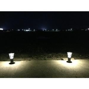 高亮度太陽能景觀庭園燈 38公分高4