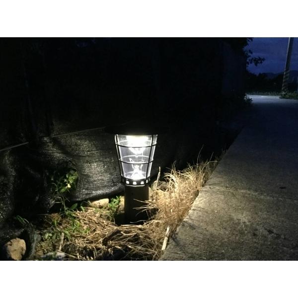 高亮度太陽能景觀庭園燈 38公分高5-驊灃企業有限公司-基隆