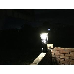 高亮度太陽能景觀庭園燈 38公分高6