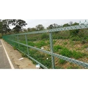 鐵網pvc圍籬