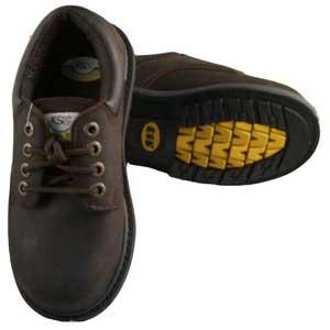 半統深褐色安全鞋-賽福帝企業有限公司-新北