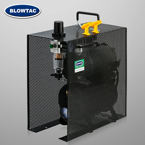 單缸式小型空壓機附儲氣筒加保護殼(網狀)-TC-20TS-B