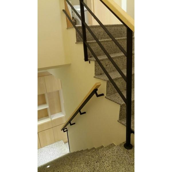 室內扶手樓梯-崗鈺工程行-台南