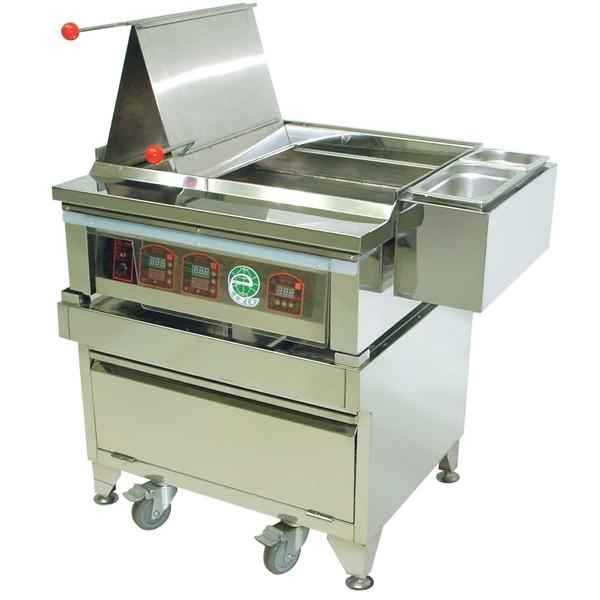 P2-1 IC控溫鍋貼煎板爐
