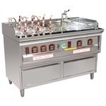 P13 6孔2湯煮麵機