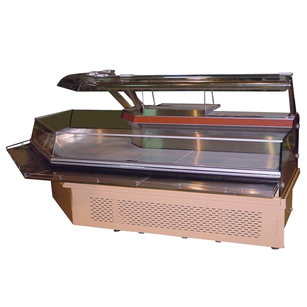 P55-1轉角型冷藏展示台