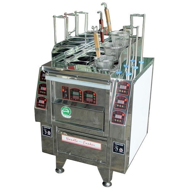 P12-6孔升降煮麵機