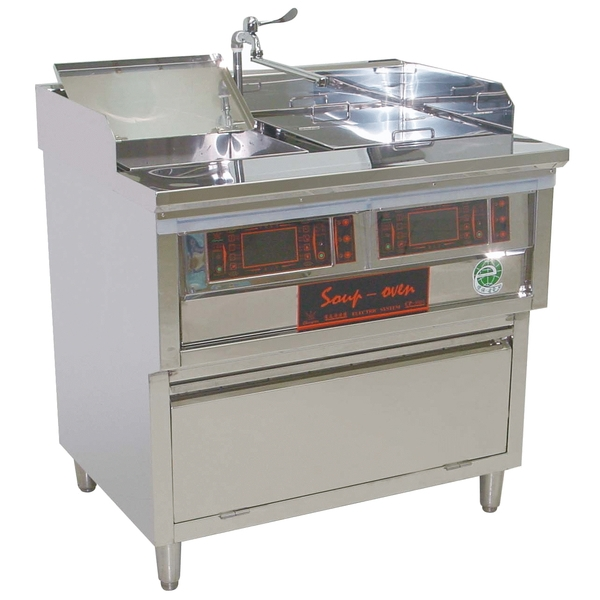 P14-1雙口方型湯滷爐