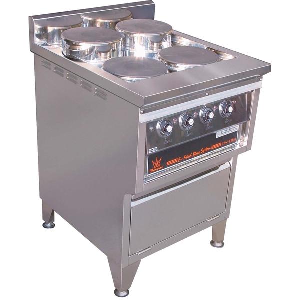 P19-2西式四口電熱盤爐台