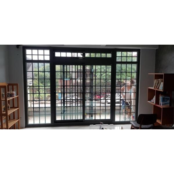 舊窗換新窗..施工後
