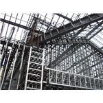 鋼骨結構-建慶鐵工廠-造型大門,窗框,廠房,鋼骨結構,免拆模鋼網,RC鋼壁工程