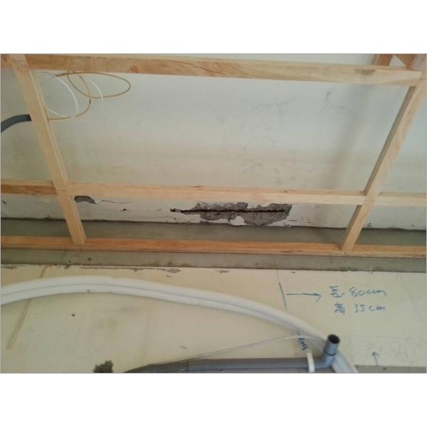 鋼筋外露除銹施作-永效防水工程行-新北