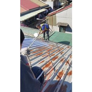 鐵皮屋噴漆防水施作