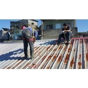 鐵皮屋頂烤漆噴漆保養