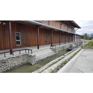 池上火車站-護欄1