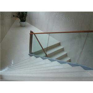 造型牆面刻字  樓梯止滑溝-鉅瑩工程股份有限公司-新北
