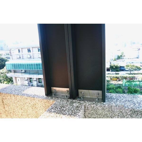 H型鋁擠型&加強梁.立柱1