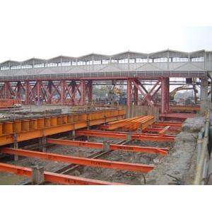 型鋼出租、南港車站八層支撐