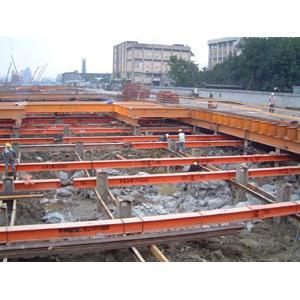 CL305標南港車站第一期八層地下安全支撐及構台工程