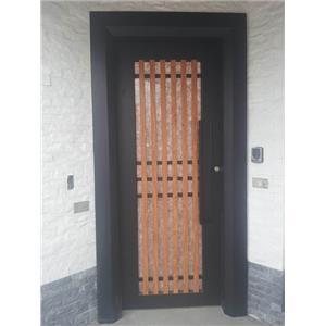 藝術木紋門-鴻仁金屬建材有限公司-台南