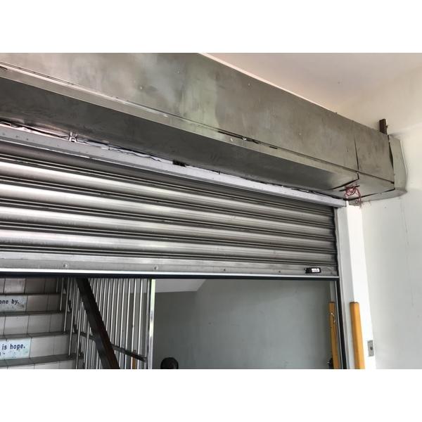 鐵捲門安全防夾裝置1
