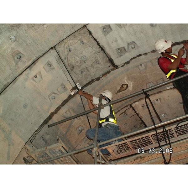 圓型水膨脹橡膠止水條安裝-永詮防水有限公司-台北