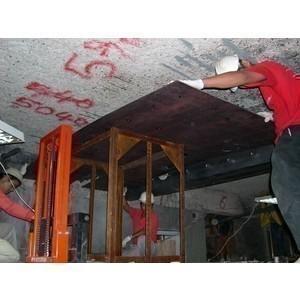 鋼板補強施工