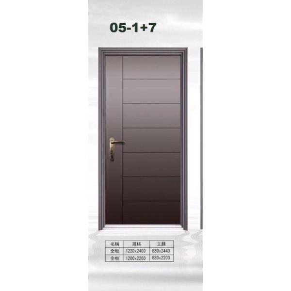 鍍鋅鋼板門