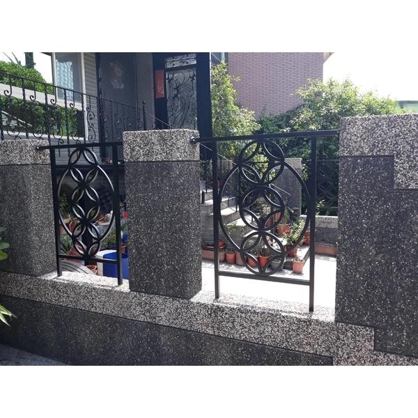 不鏽鋼金錢花欄杆-永振工程行-基隆