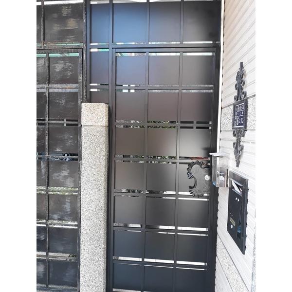 不鏽鋼烤漆門-永振工程行-基隆