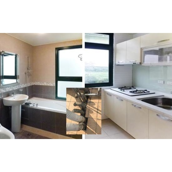 廚房衛浴內配管線