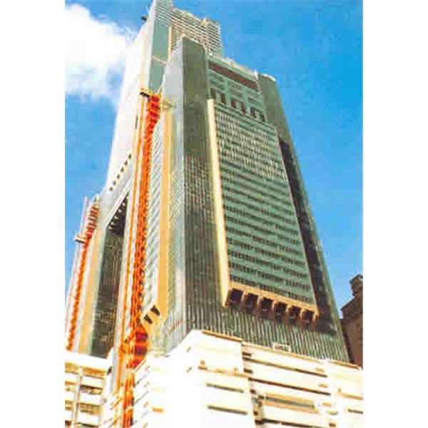 東帝士集團所投資興建85層鋼骨結構大樓