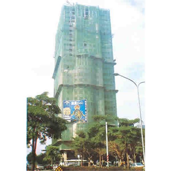 一般建築工地最常見的鍍鋅鷹架