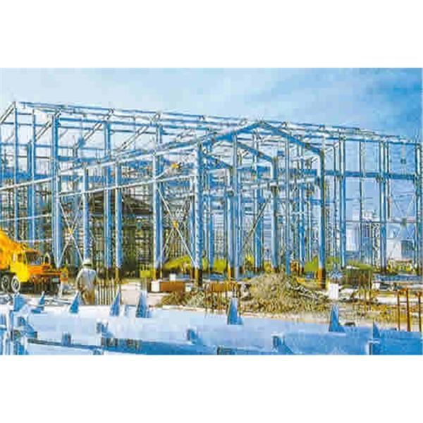 廠房鍍鋅鋼結構物