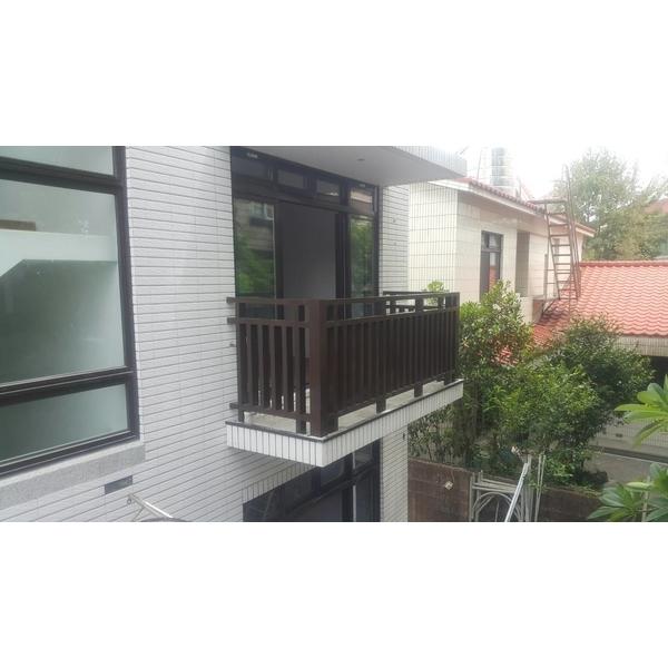 鋁製欄杆6-綠光精品門窗-桃園